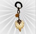 梦三国2羽扇钥匙扣